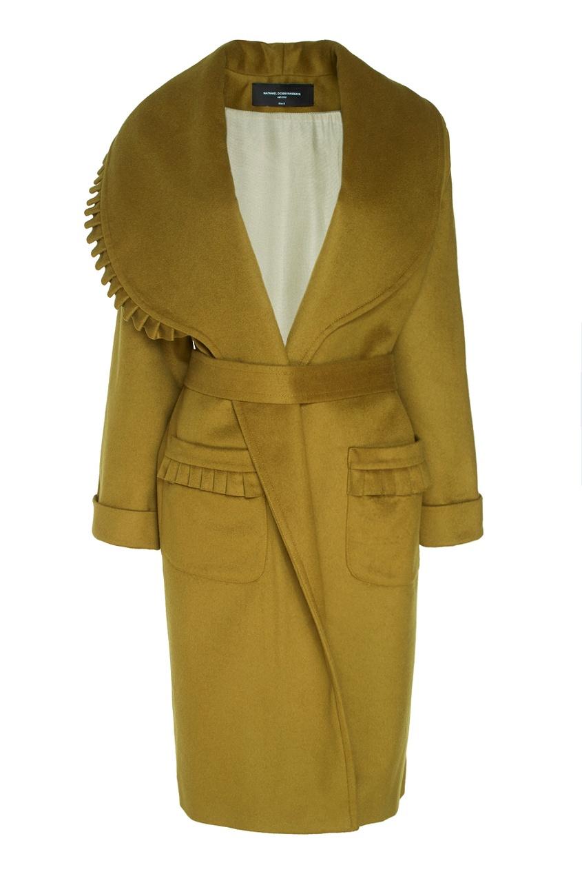 Пальто из шерсти и кашемира
