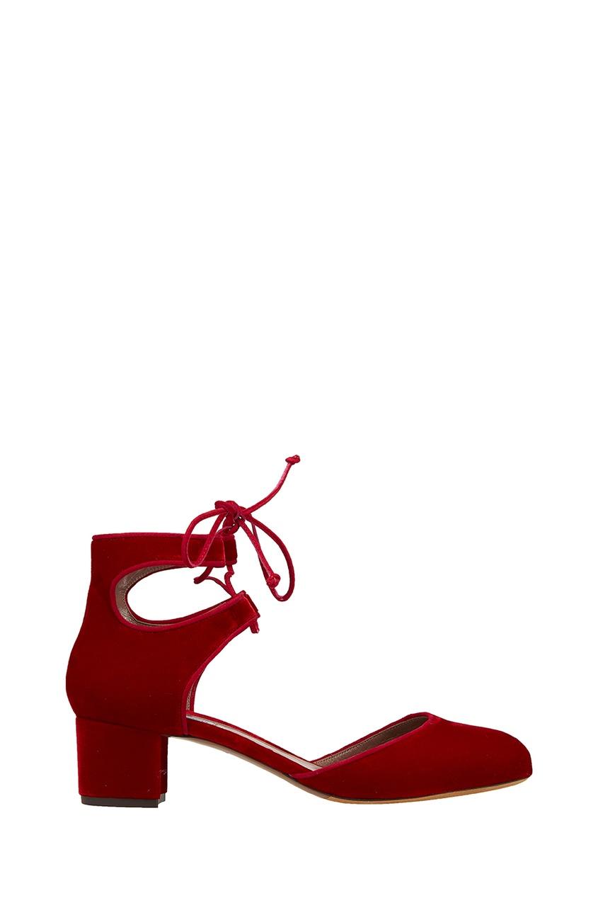 Бархатные туфли Imogen