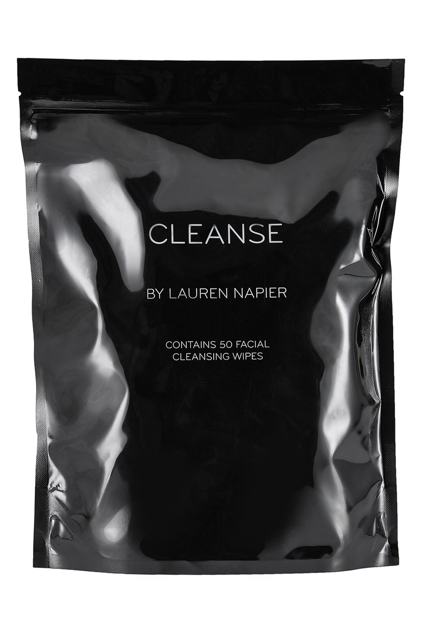 Lauren Napier Очищающие салфетки для лица Cleanse, 50 шт. strong infrared body ion cleanse foot spa
