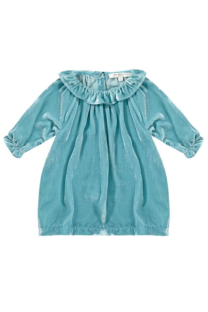 Хлопковое платье Alexandrite Baby