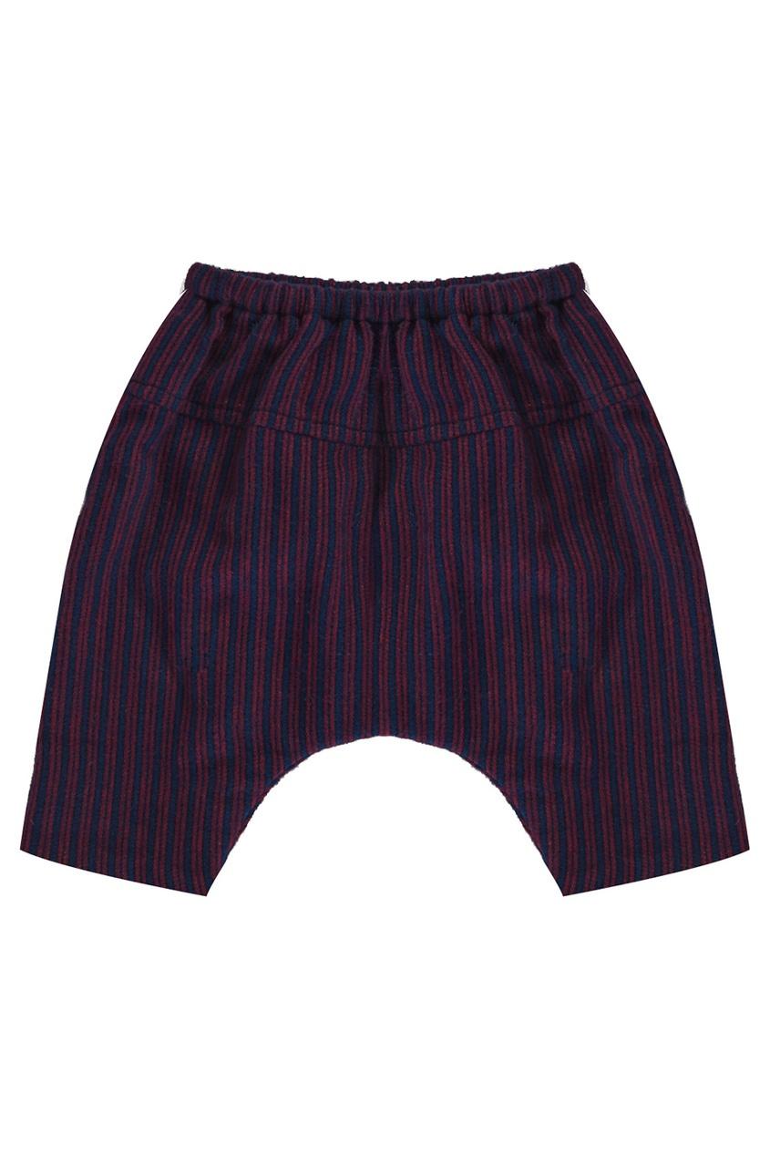 Хлопковые брюки Calcite Baby