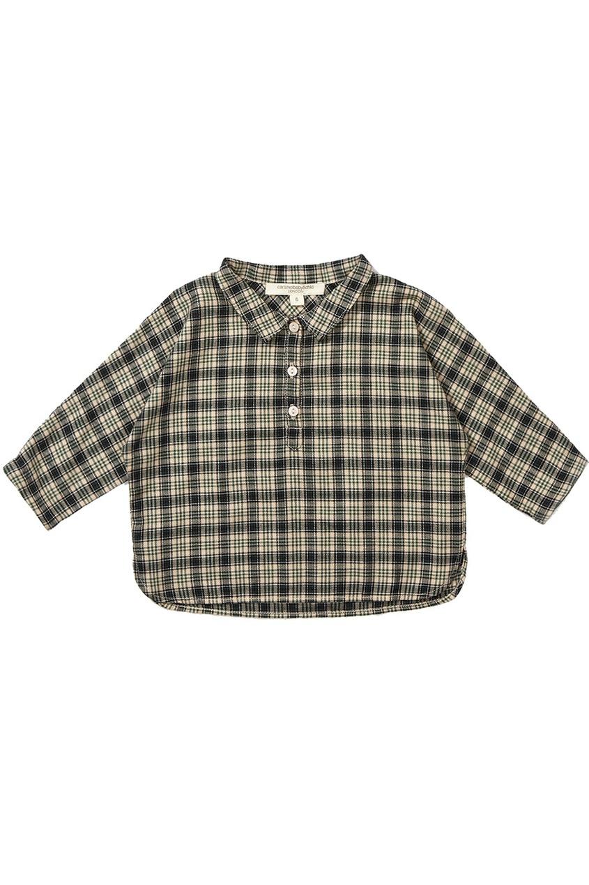 Хлопковая рубашка Coal Baby