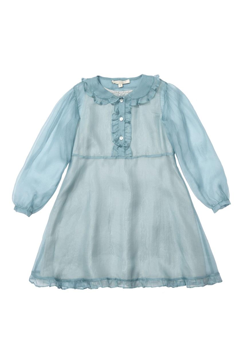 Шелковое платье Crystal