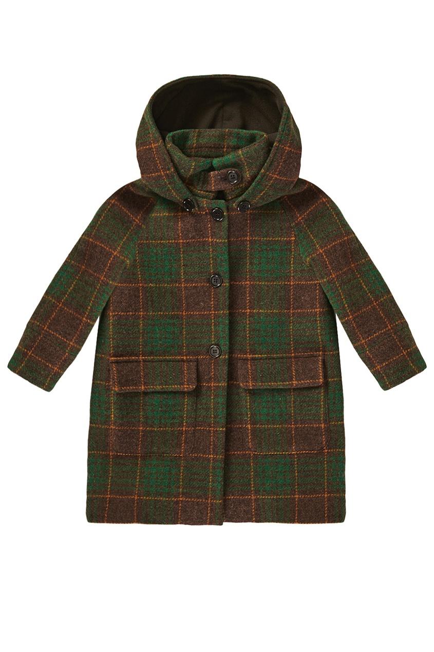 Шерстяное пальто Tuff