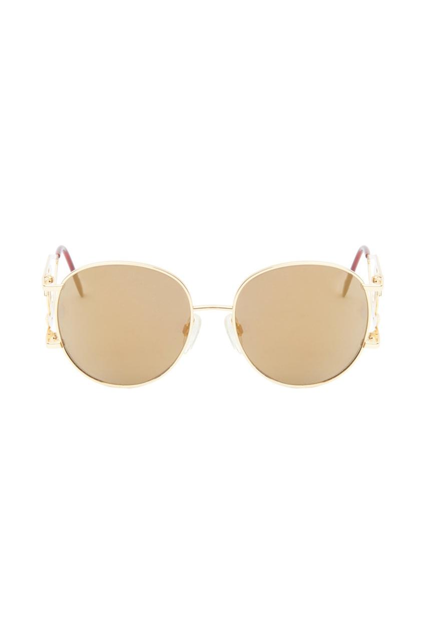 Chanel Vintage Солнцезащитные очки с фирменным знаком (90-е гг.)