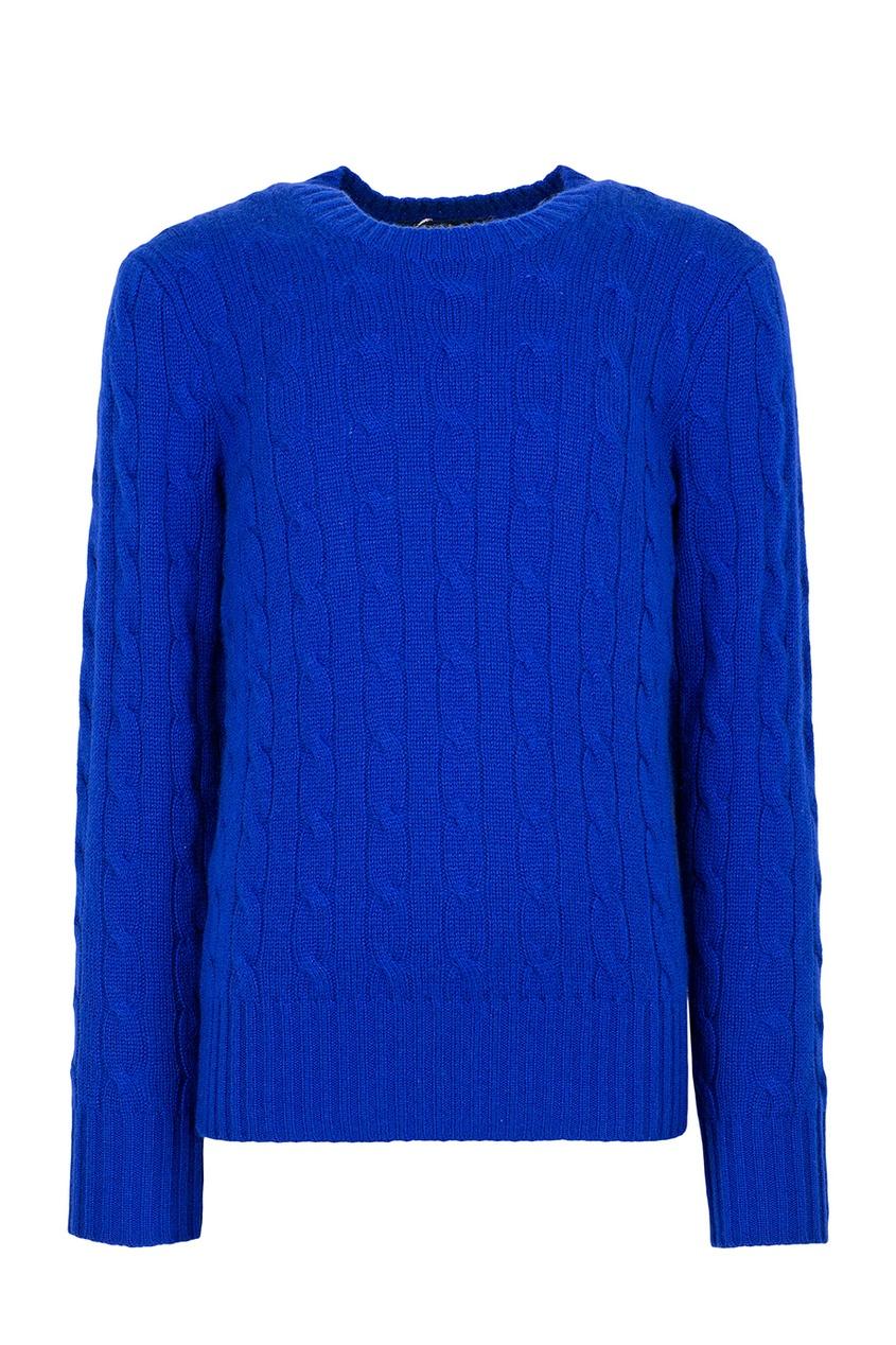 Купить Кашемировый джемпер от Ralph Lauren Kids синего цвета