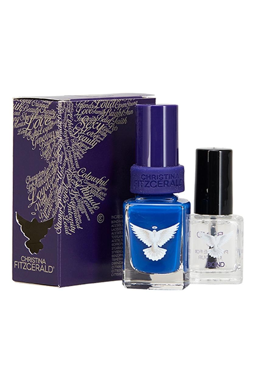 Лак для ногтей Suzelle «Синий кобальт»