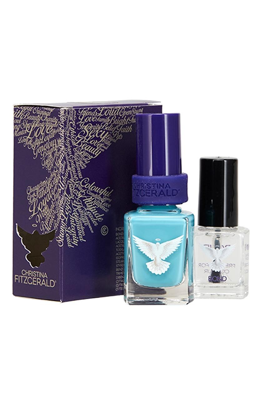Лак для ногтей Leanne «Сияющий голубой»