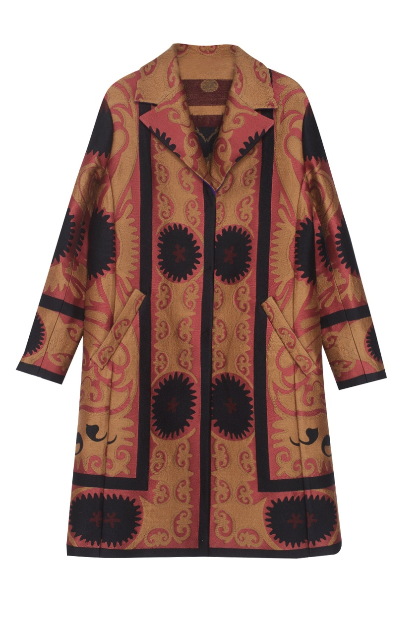 Etro Шерстяное пальто