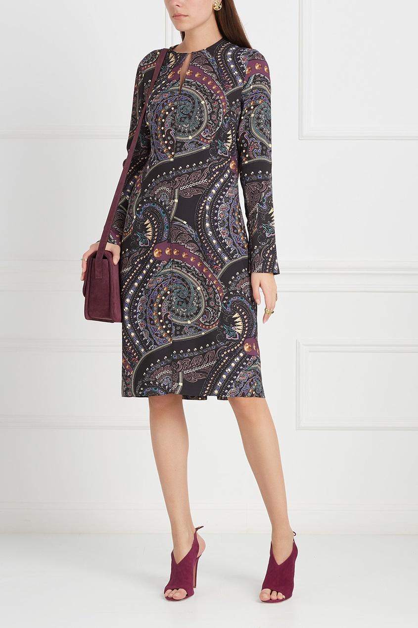 Etro Платье с заклепками