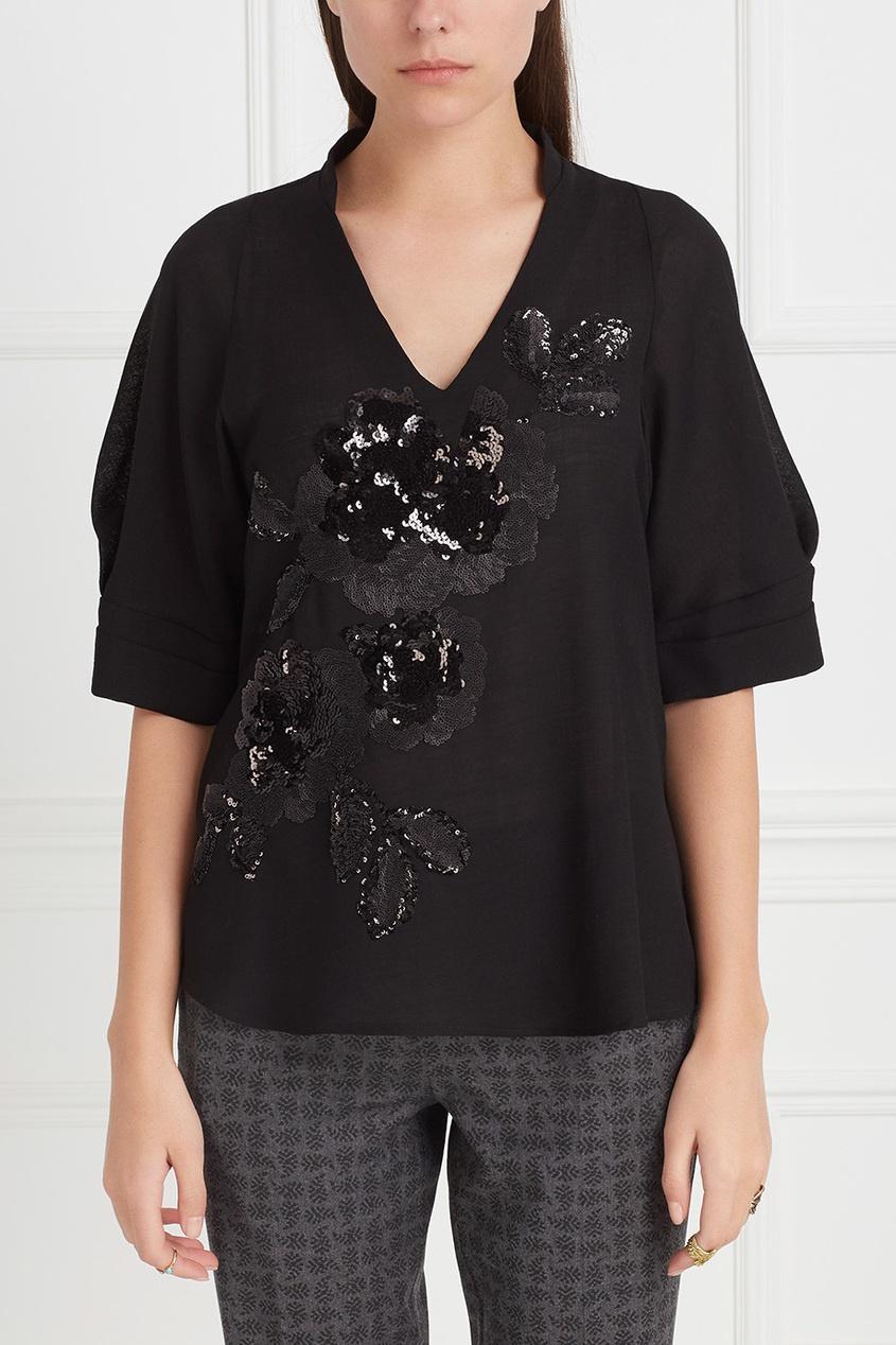 Шерстяная блузка