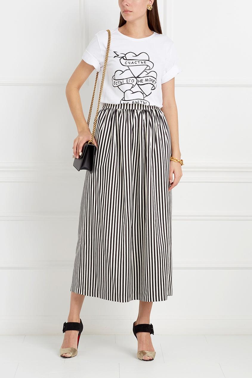 Шелковая юбка Hamida Banu