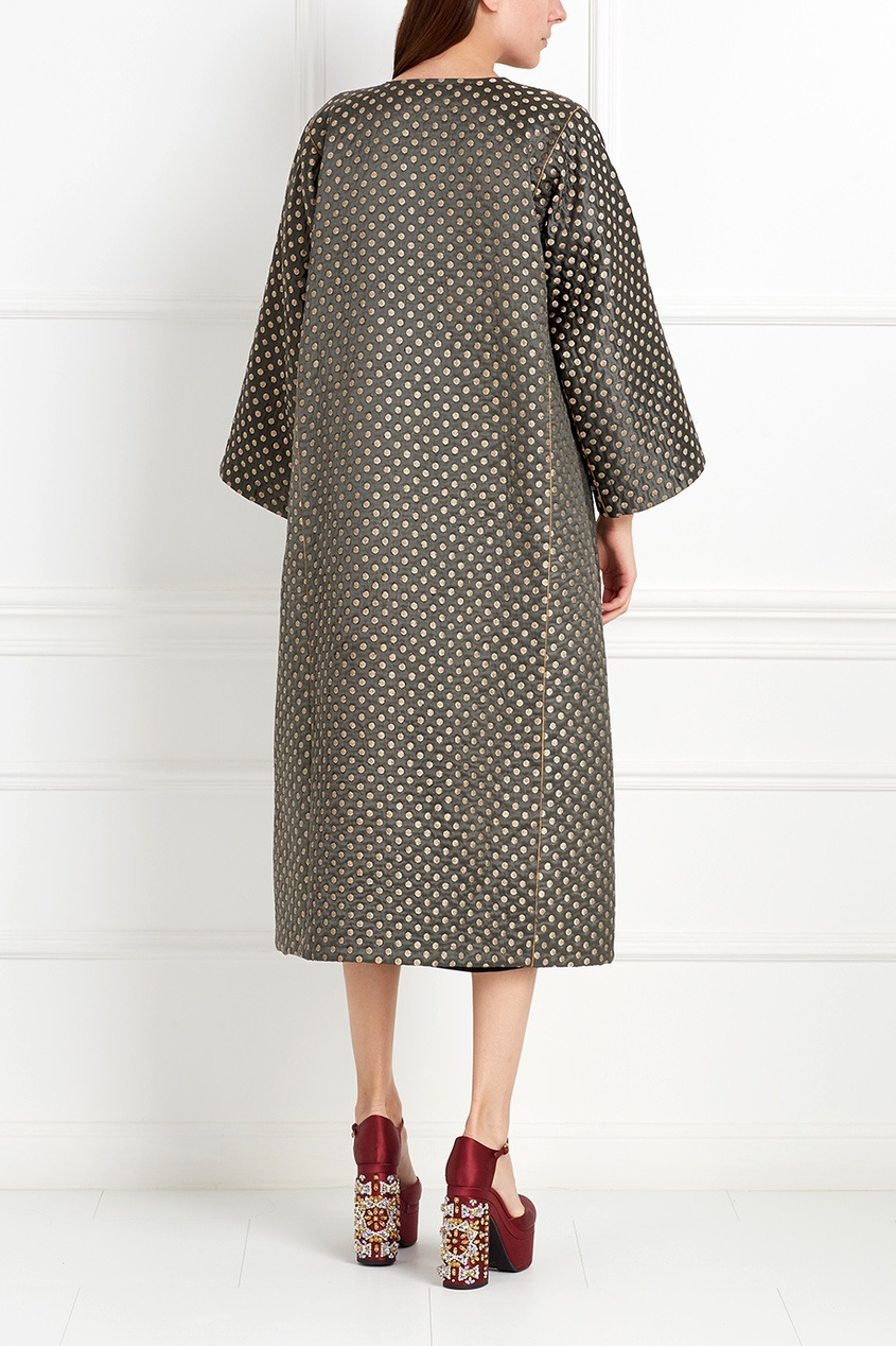 Asian Spirit Шелковое пальто Rahmat