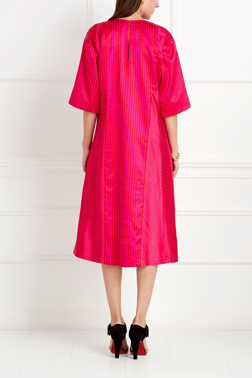Шелковое платье Faria