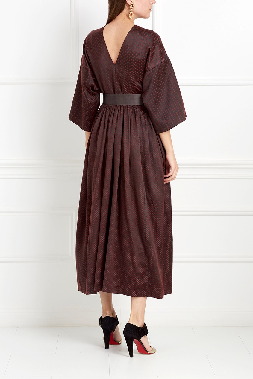 Шелковое платье Ozan