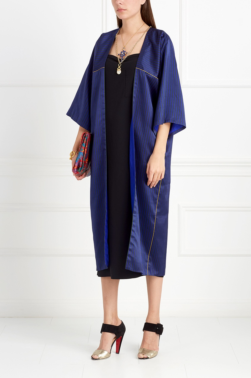 Asian Spirit Шелковое пальто Sabiha