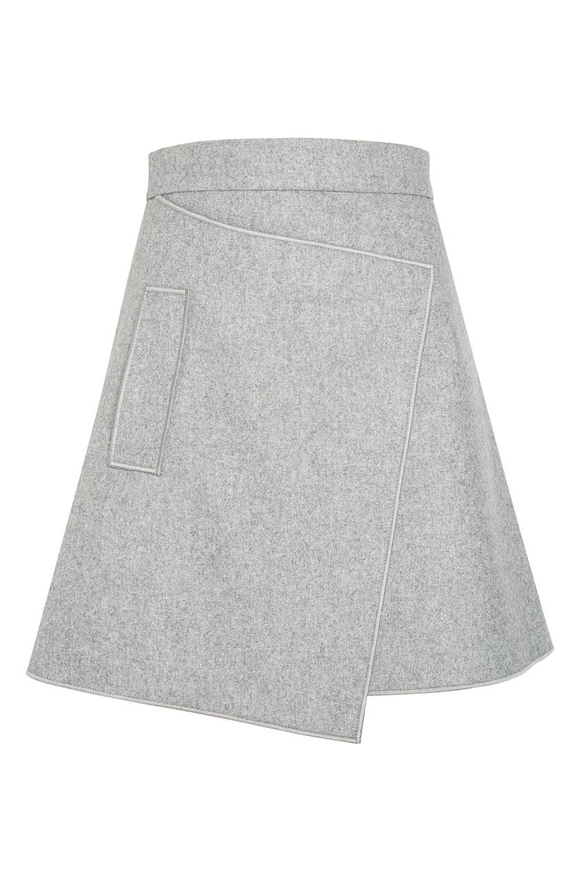 Carven Шерстяная юбка