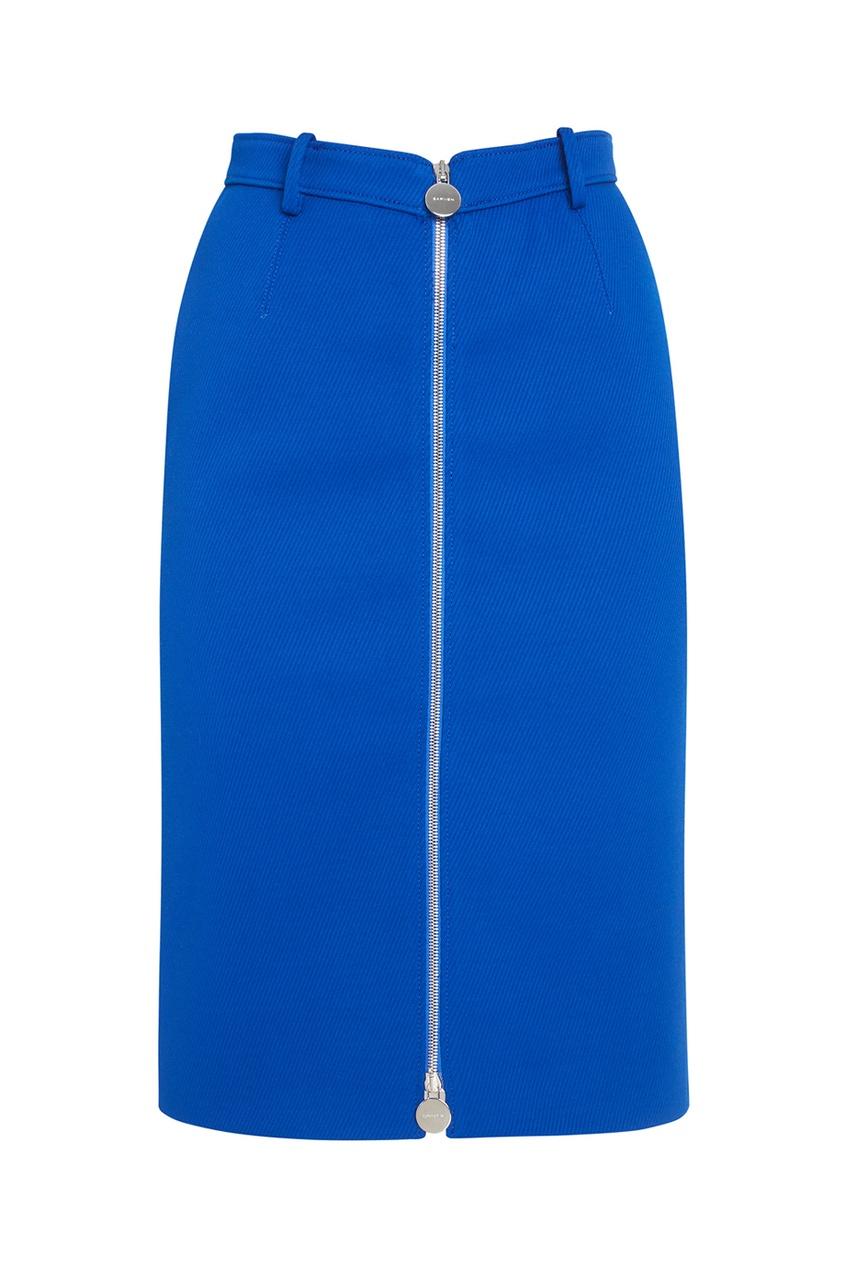 Carven Однотонная юбка