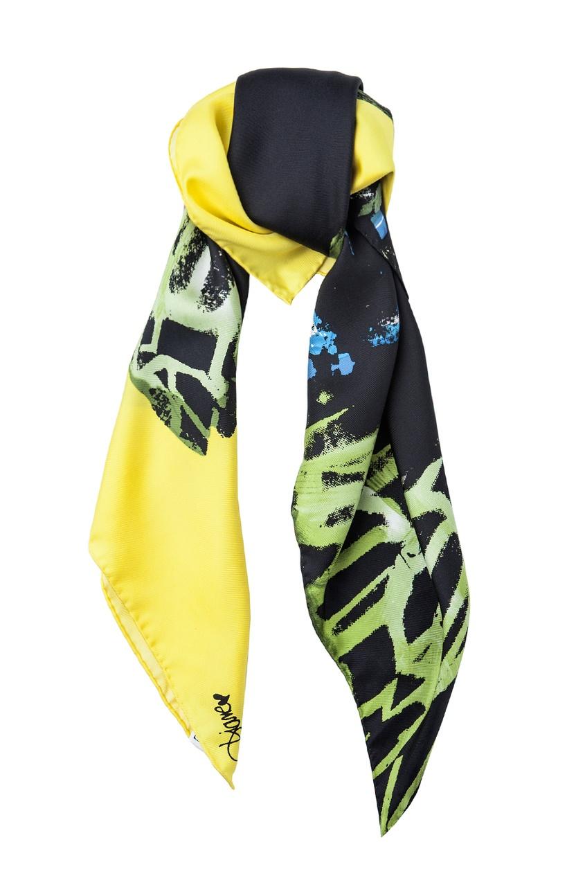 Шелковый шарф Silk Twill 35x35 Square