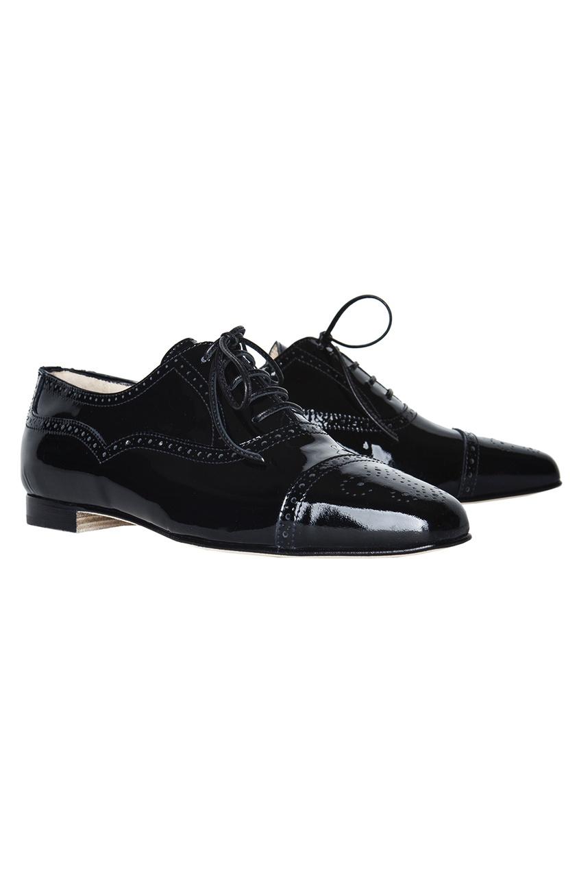 Manolo Blahnik Кожаные ботинки Bath