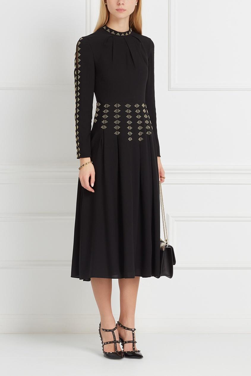 Valentino Шелковое платье