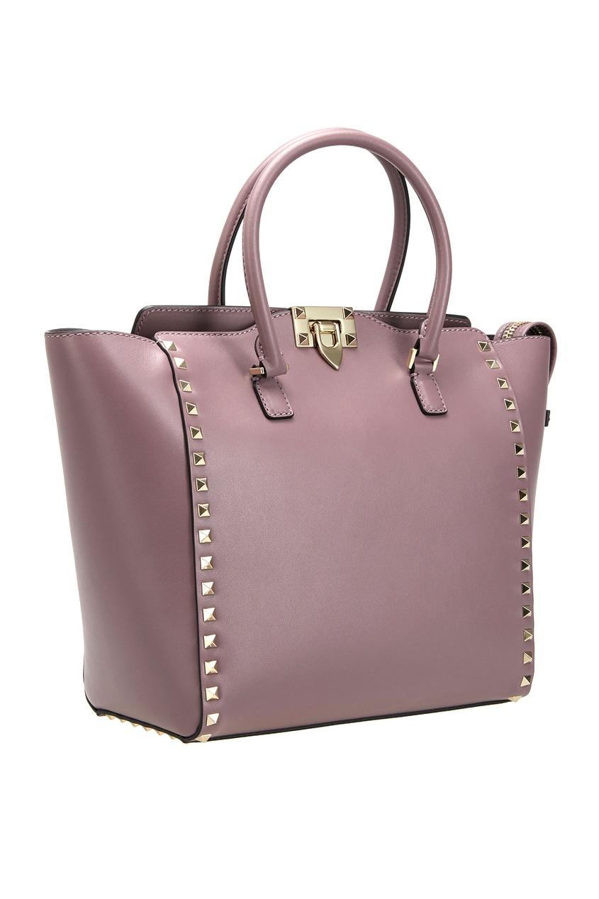 Valentino Кожаная сумка Rockstud