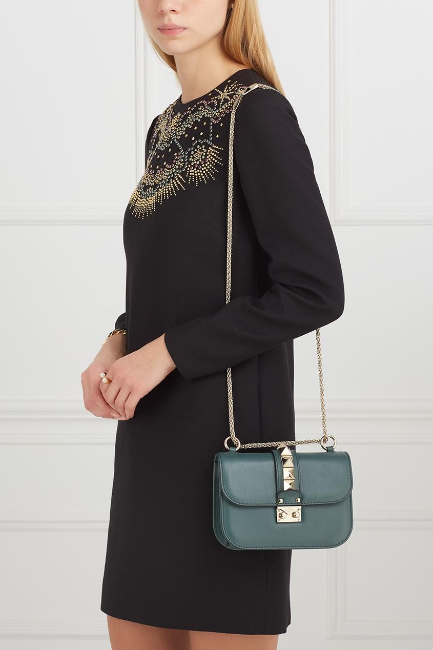 Valentino Кожаная сумка Lock