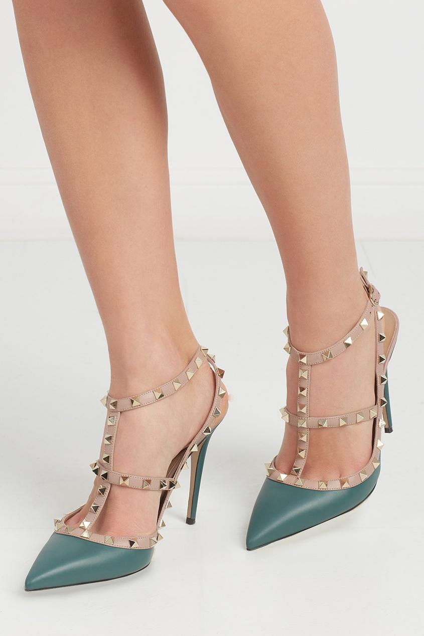 Кожаные туфли Rockstud