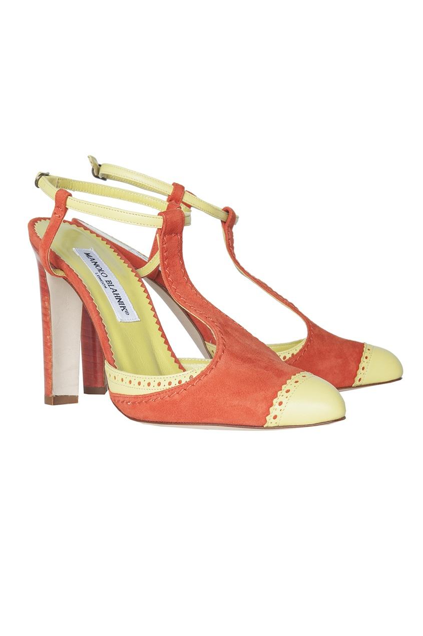 Замшевые туфли Galera.