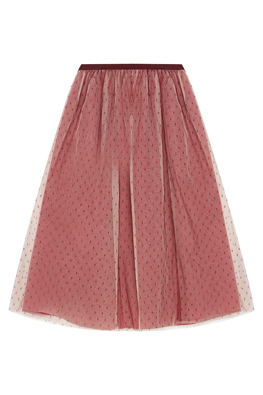 Двухслойная юбка