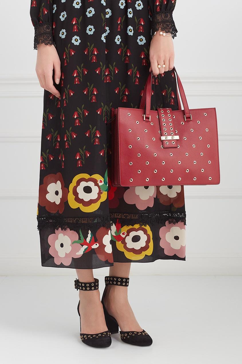 Red Valentino Кожаная сумка