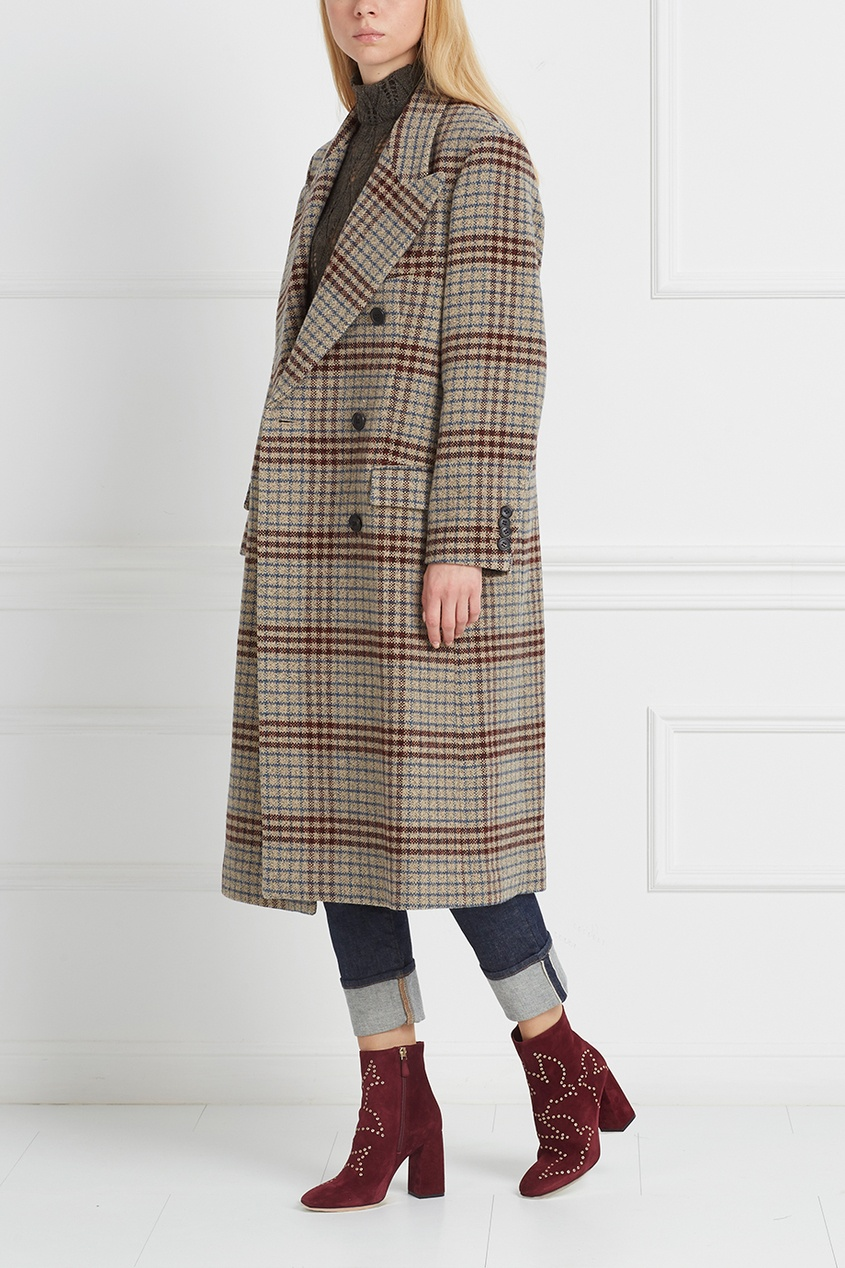 Шерстяное пальто Flint от AIZEL