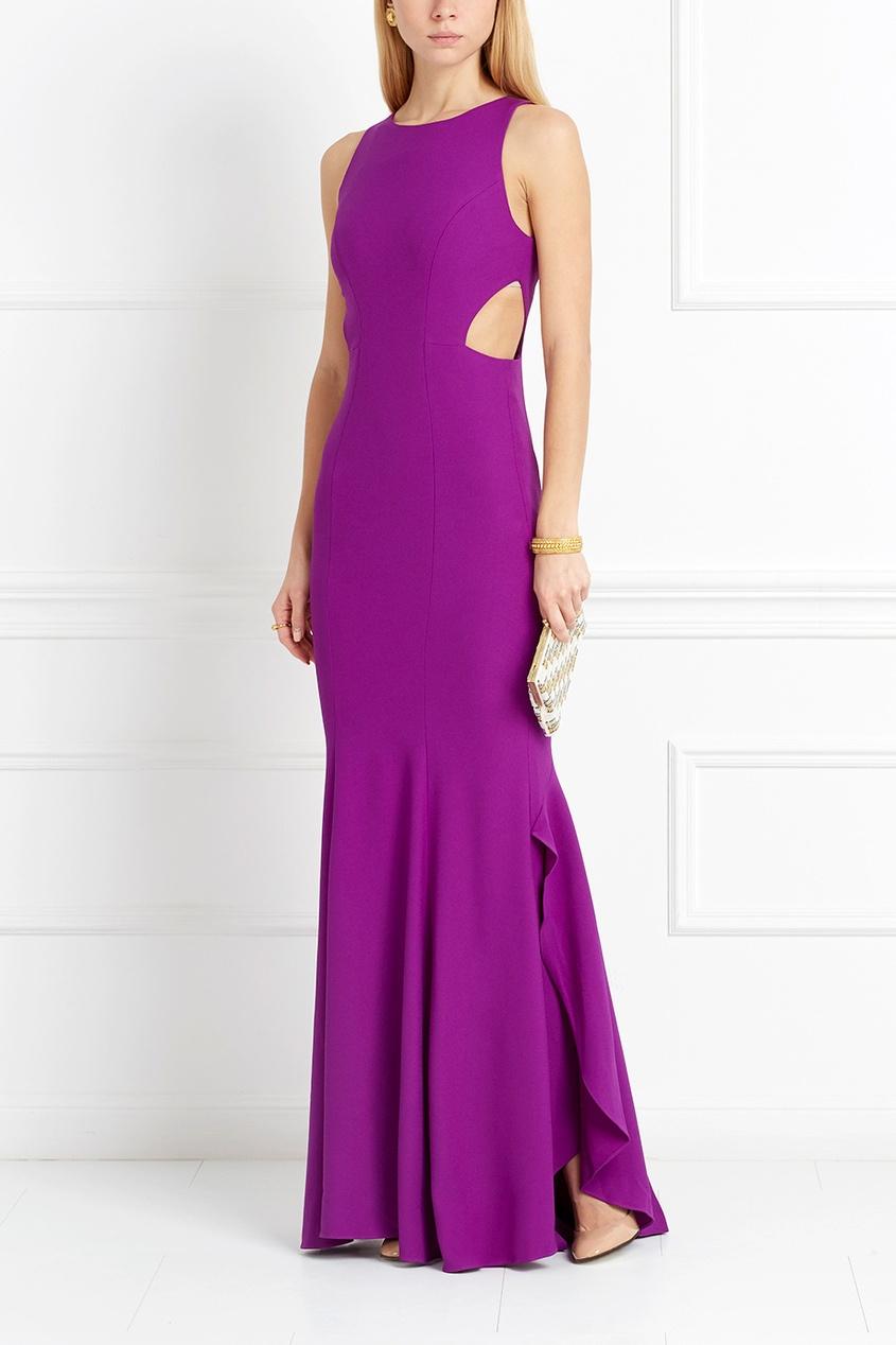 Платье в пол Cassie