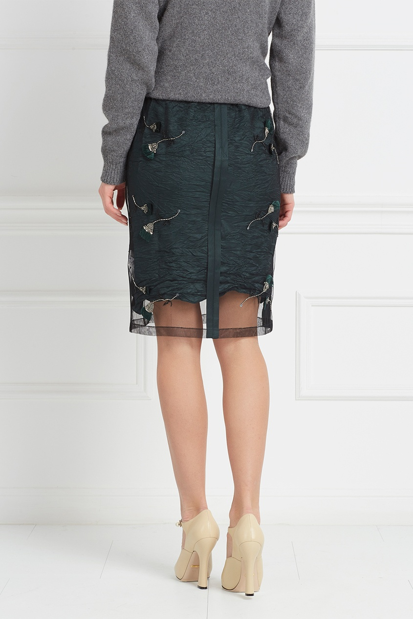 Полупрозрачная юбка от AIZEL