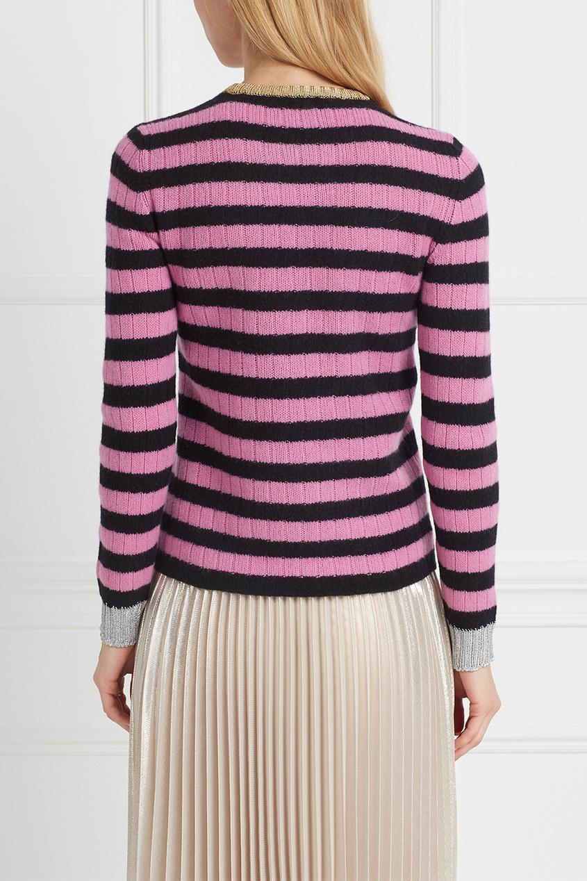 Фото 4 - Шерстяной джемпер от Gucci цвет multicolor