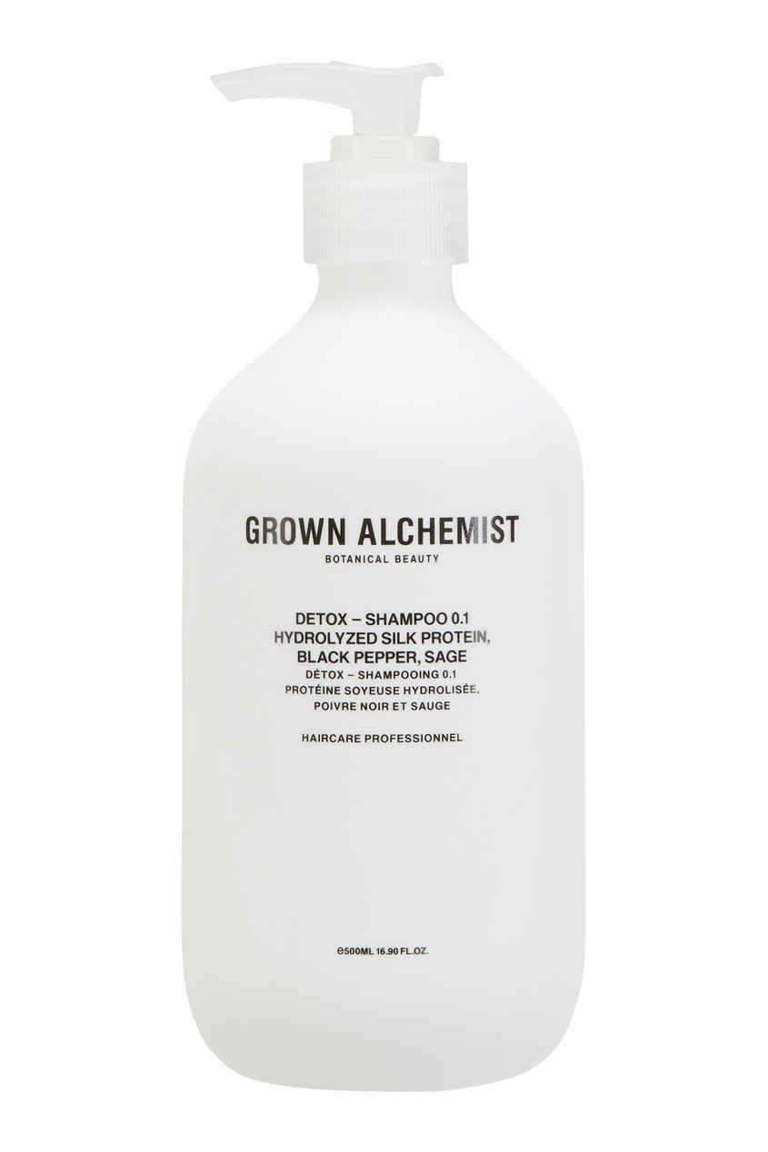 Grown Alchemist Детокс-шампунь 0.1 Detox 500ml grown alchemist набор средств для волос 0 1 detox – haircare twin set 2x200ml