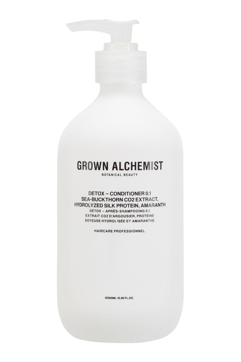 Grown Alchemist Детокс-кондиционер для волос 0.1 Detox 500ml grown alchemist набор средств для волос 0 1 detox – haircare twin set 2x200ml