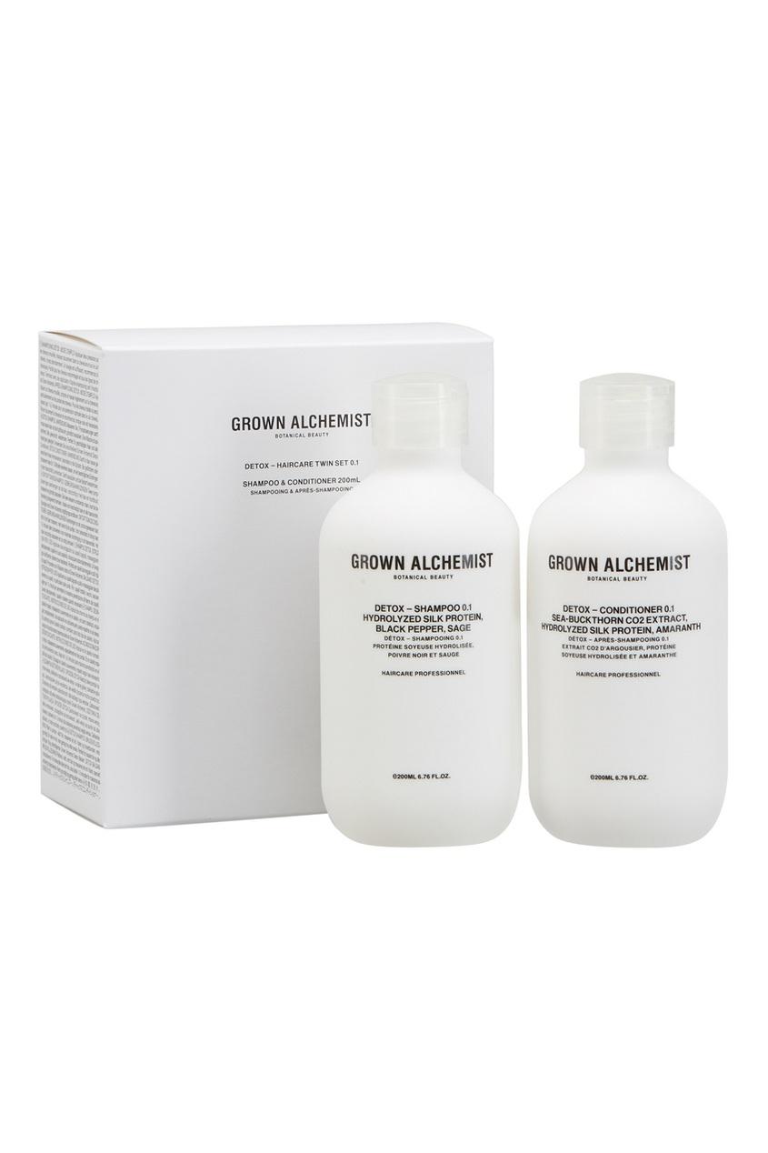 Grown Alchemist Набор средств для волос 0.1 Detox – Haircare Twin Set 2x200ml