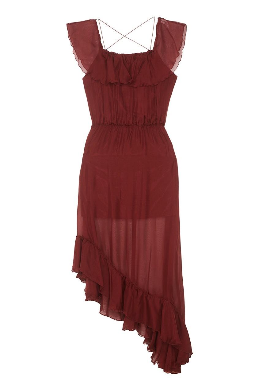 Шелковое платье Haze Long
