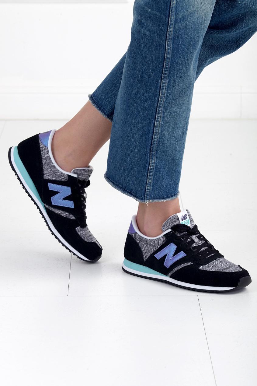 New Balance Замшевые кроссовки 420