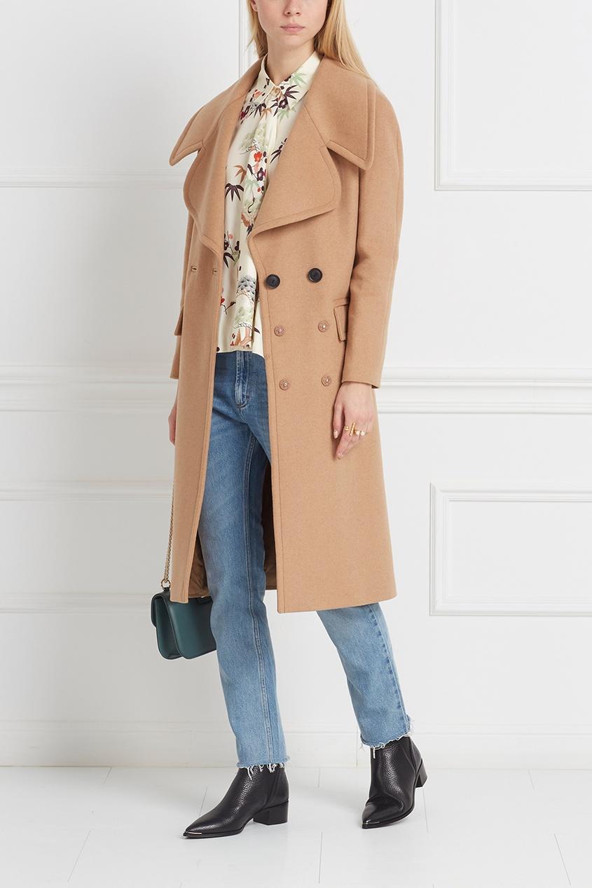 Пальто из шерсти и кашемира Avenue