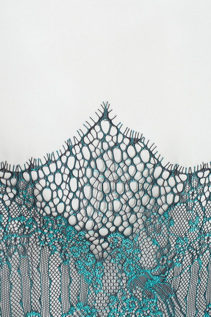 Шелковое платье «Малахит»