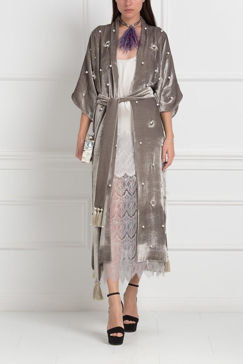Шелковое платье «Агат»