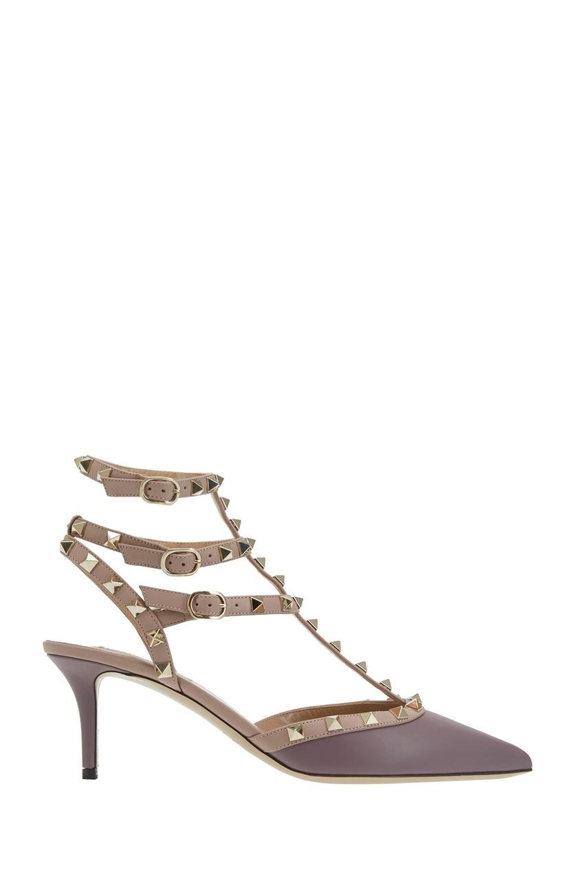 Valentino Кожаные туфли Rockstud