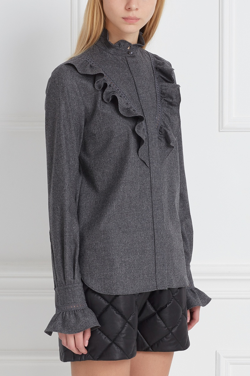 Stella McCartney Шерстяная блузка