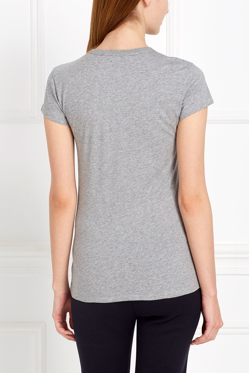 Stella McCartney Хлопковая футболка