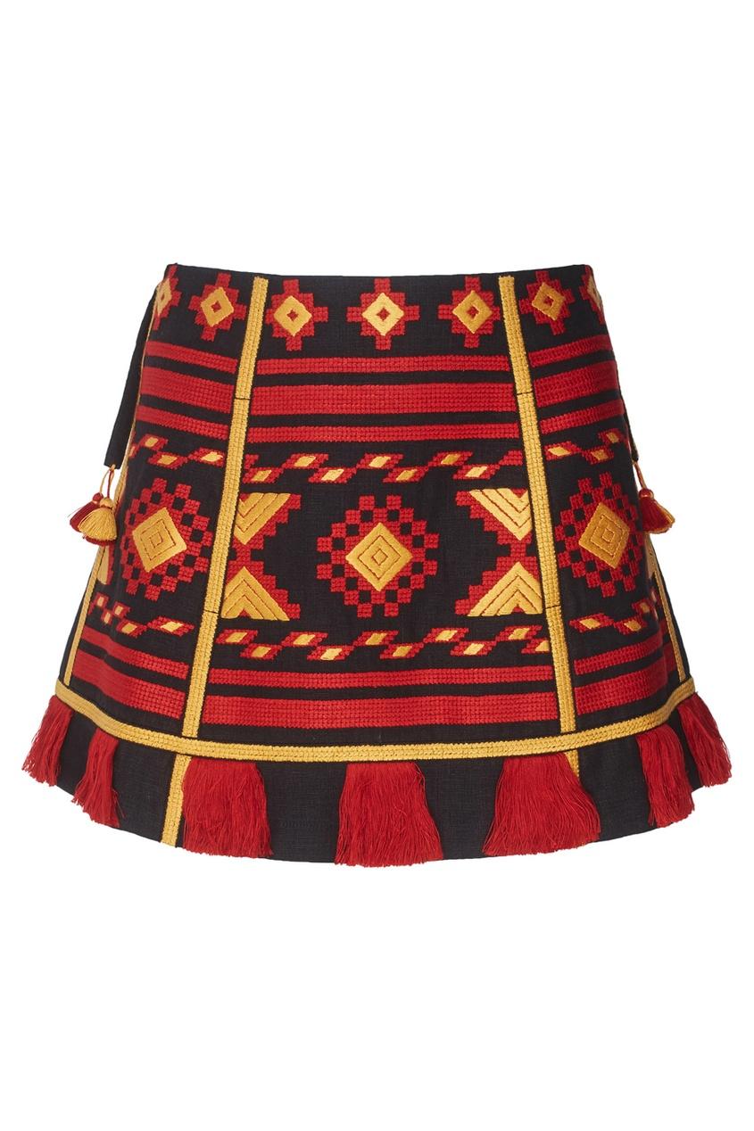 Vita Kin Юбка из льна LINEN CROATIA юбки vita stretta юбка