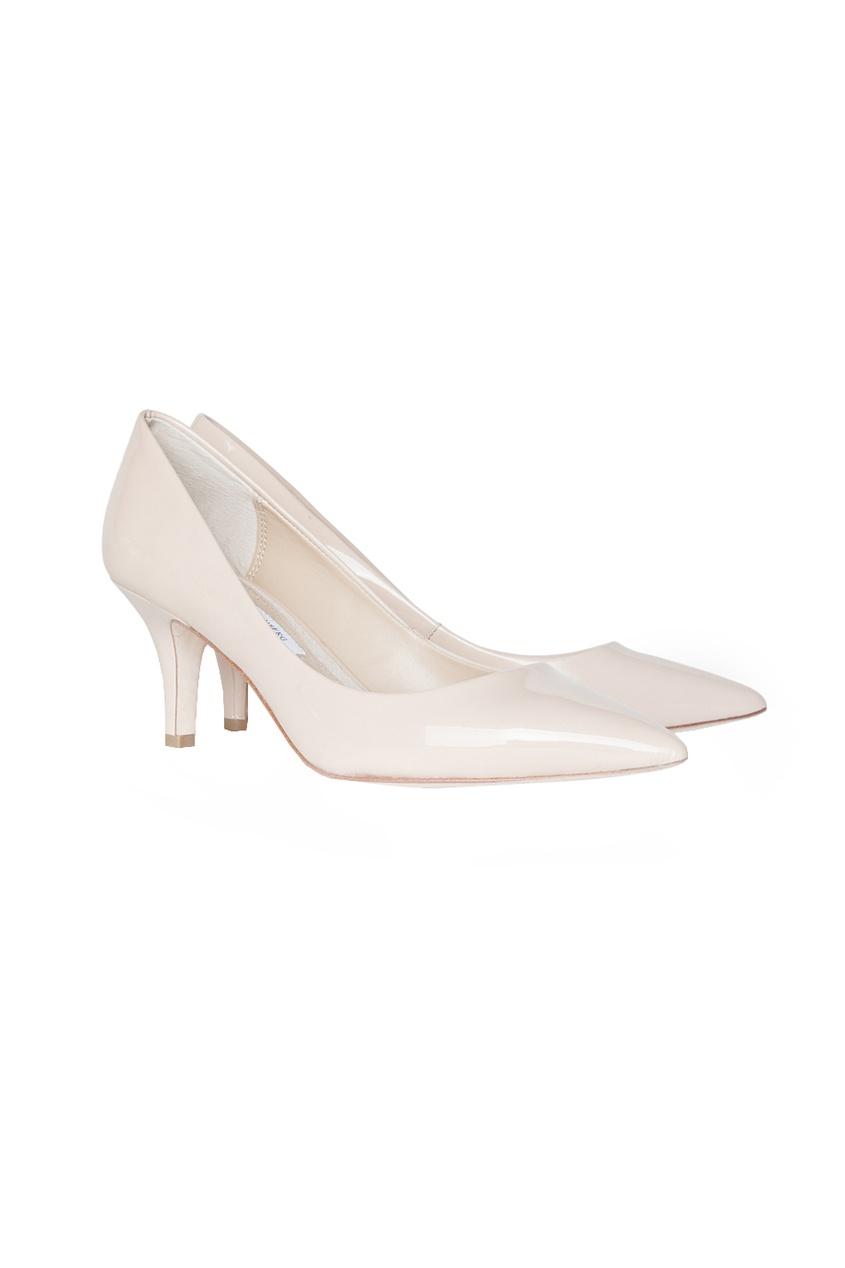 Diane von Furstenberg Лодочки на среднем каблуке Anette 70 mm