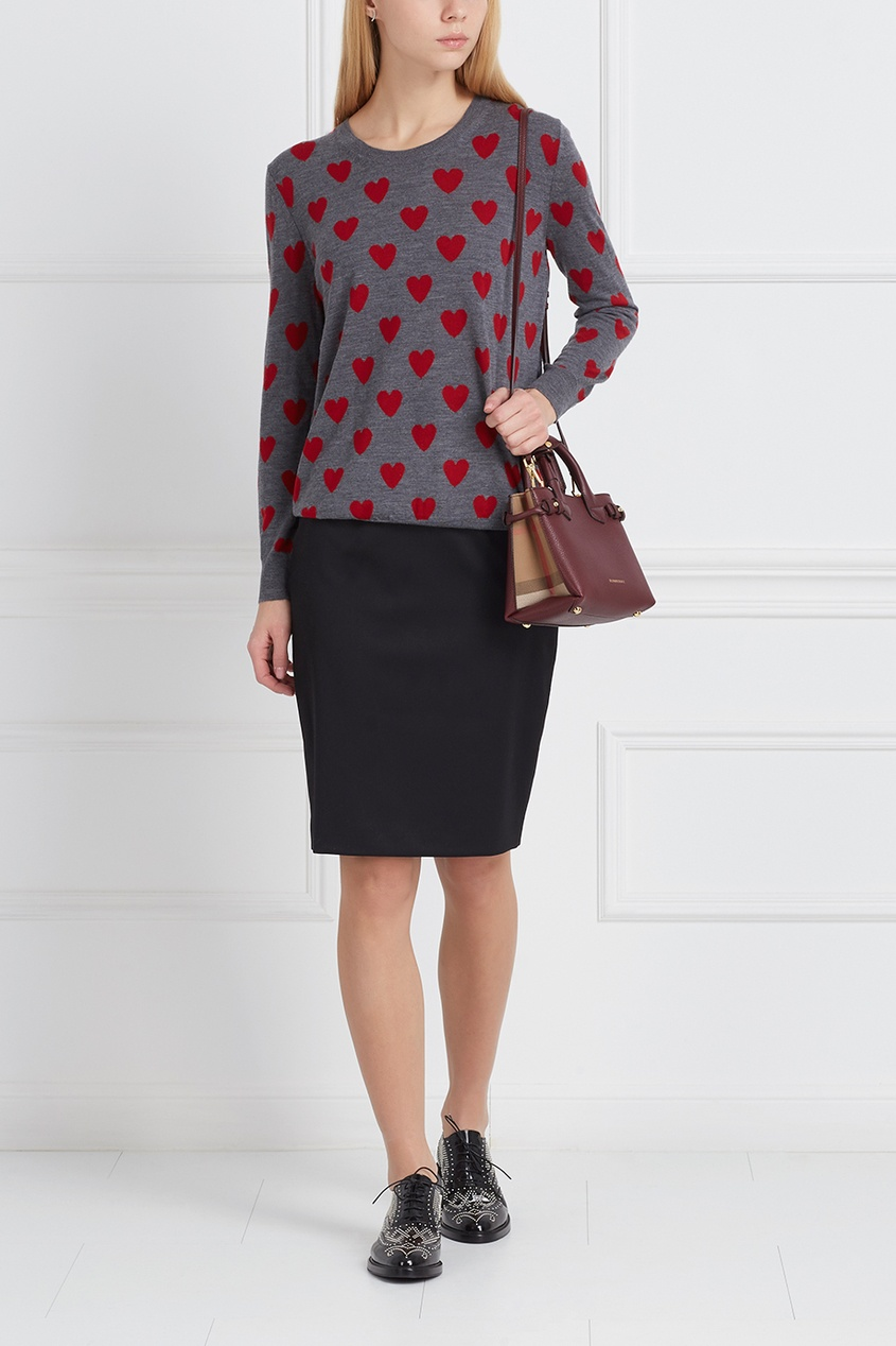 Burberry Шерстяная юбка