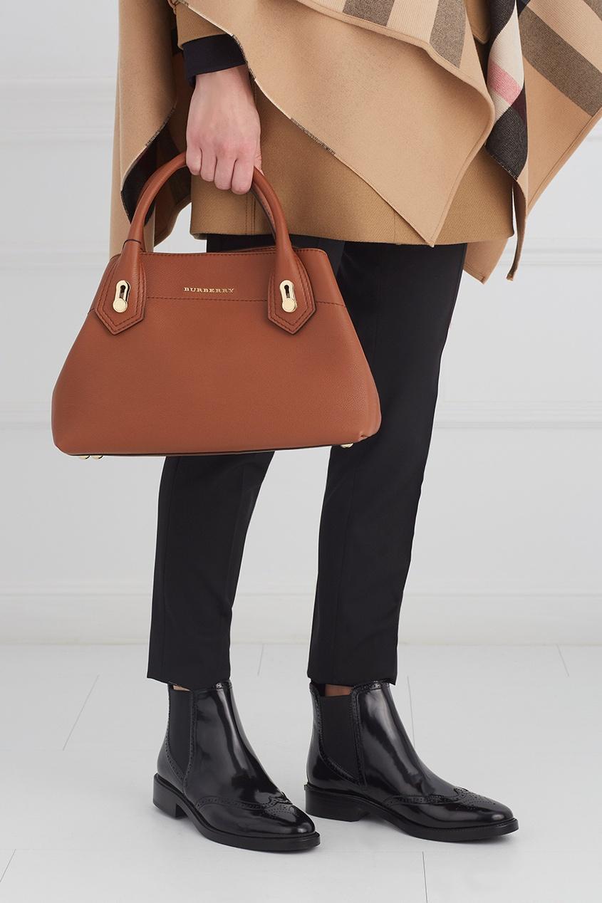 Burberry Кожаная сумка